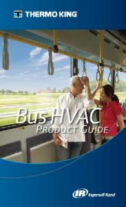 Bus HVAC. Product Guide
