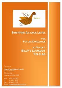 BUSHFIRE ATTACK LEVEL