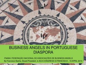 BUSINESS ANGELS IN PORTUGUESE DIASPORA