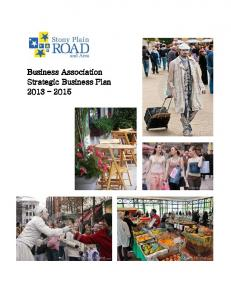 Business Association Strategic Business Plan