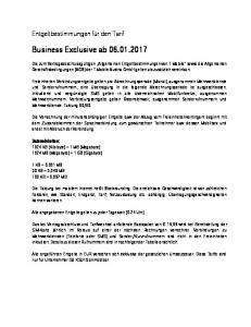 Business Exclusive ab