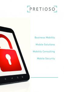 Business Mobility. Mobile Solutions. Mobility Consulting. Mobile Security