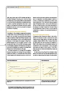 BUSINESS OVERVIEW SHARE PRICE PERFORMANCE FARE DETERMINATION