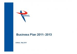 Business Plan Edition, May 2011