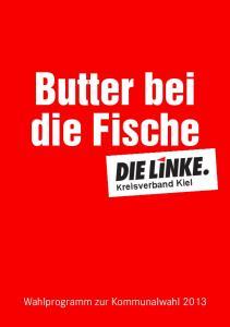 Butter bei die Fische. Kreisverband Kiel
