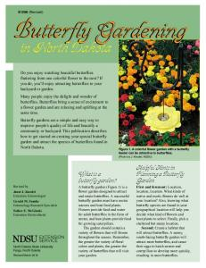 Butterfly Gardening. Butterfly Gardening. in North Dakota