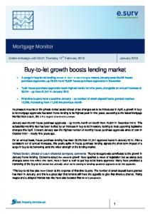 Buy-to-let growth boosts lending market