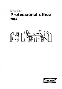 BUYING GUIDE. Professional office
