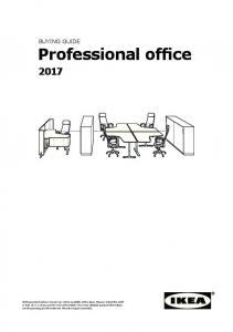 BUYING GUIDE Professional office