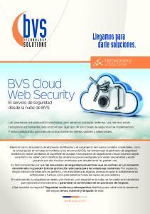 BVS Cloud Web Security