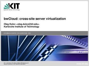 bwcloud: cross-site server virtualization