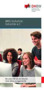 BWL-Industrie: Industrie 4.0