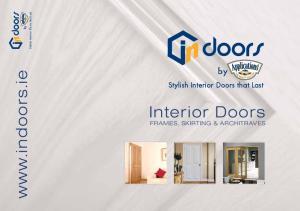 by Interior Doors Stylish Interior Doors that Last Stylish Interior Doors that Last FRAMES, SKIRTING & ARCHITRAVES