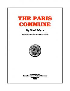 By Karl Marx. With an Introduction by Frederick Engels