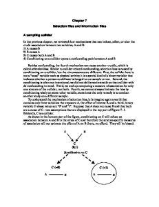 C (0,1) Stratification on C