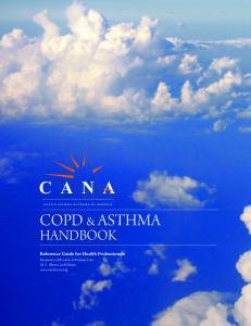C A N A COPD & ASTHMA HANDBOOK
