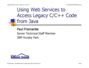 C++ Code from Java