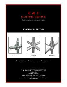 C & J SCAFFOLD SERVICE