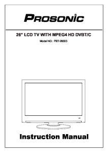C. Model NO.: PBT Instruction Manual