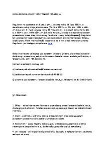c) pisemnie pod adresem: Fanaberia Izabela Janus, ul. Wiosenna Gniezno