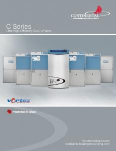 C Series Ultra High Efficiency Gas Furnaces