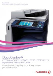 C2275 Digital Colour Multifunction Device