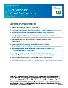 CA ControlMinder for Virtual Environments