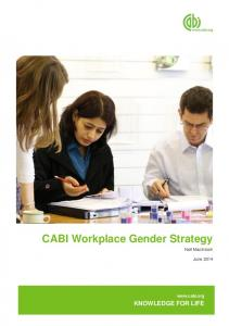 CABI Workplace Gender Strategy