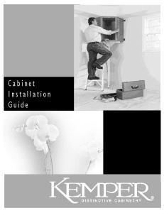 Cabinet Installation Guide