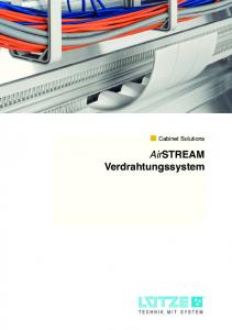 Cabinet Solutions AirSTREAM Verdrahtungssystem