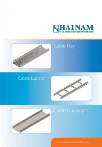 Cable Tray. Cable Ladder. Cable Trunking