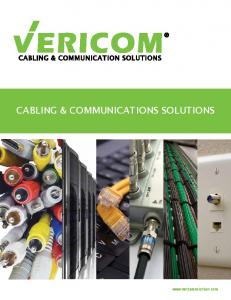 Cabling & Communications Solutions