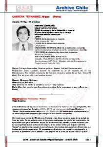 CABRERA FERNANDEZ, Miguel