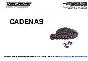 CADENAS   Web: