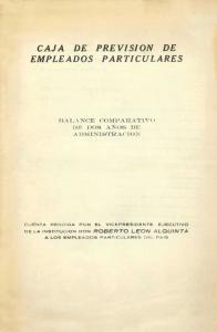 CAJA DE PREVISION DE EMPLEADOS PARTICULARES