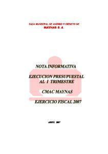 CAJA MUNICIPAL DE AHORRO Y CREDITO DE MAYNAS S.A
