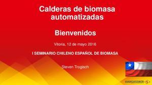 Calderas de biomasa automatizadas