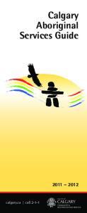 Calgary Aboriginal Services Guide