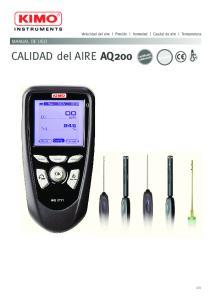 CALIDAD del AIRE AQ200