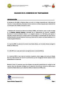 CALIDAD EN EL COMERCIO DE TRAPAGARAN