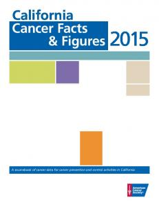 California Cancer Facts & Figures