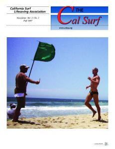 California Surf Lifesaving Association