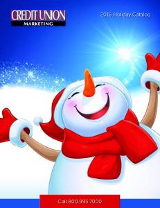 Call Holiday Catalog