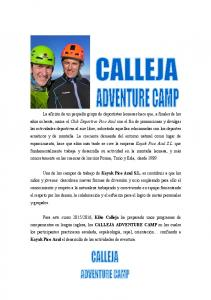 CALLEJA ADVENTURE CAMP