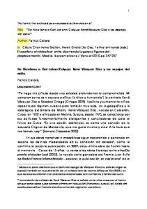 Calyuja:RenéVázquez Díaz y los espejos del exilio