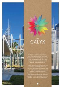 CALYX EVENT AREAS CAPACITIES