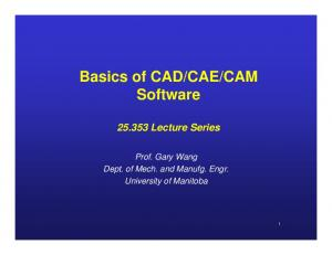 CAM Software Lecture Series