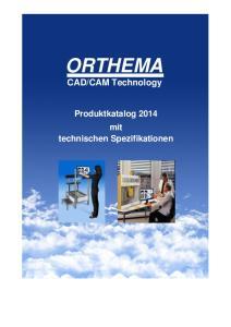 CAM Technology. Produktkatalog 2014 mit technischen Spezifikationen