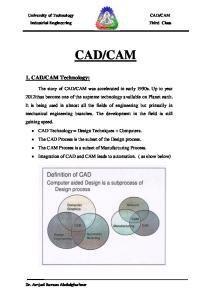 CAM Technology: