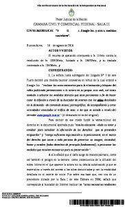 CAMARA CIVIL Y COMERCIAL FEDERAL- SALA III